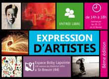 "Exposition ""Expression d'Artistes"""
